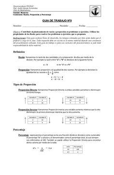 Las Mejores 8 Ideas De Proporcionalidad Directa Proporcionalidad Directa Actividades De Matematicas Porcentajes Matematicas