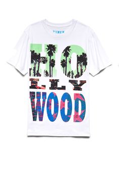 Hollywood Tee | 21 MEN West side represent #21Men #GraphicTee