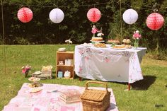 "Photo 1 of 18: Pretty Summer Picnic / Tea Party ""Picnic High Tea Party"" 