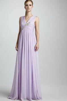 Ethereal Lavender Chiffon ...