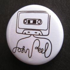 John Peel badges £0.50