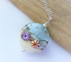 Beach Necklace Ocean Jewelry Surf and Sand Necklace