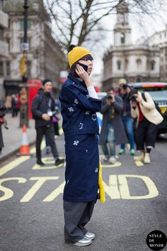 good that. Susie in London. #SusieLau #StyleBubble