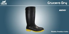 """""""Predator Indus"""" con Protección en punta La bota de PVC 38 cms de altura Forros: Calceta textil antimicótica"""