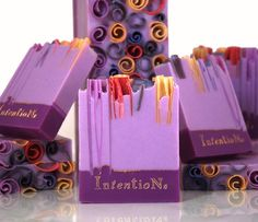 Look at all of their soaps!!! Very cool!!!! Lavender Soap Bar by Intentions on Etsy, $6.75