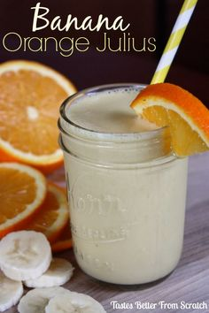 Banana Orange Julius
