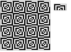 Optical Illusion Pen - Created Pattern in Paint, by AnandaUK