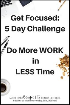 Free 5 Day Focus Challenge! Improve focus and productivity
