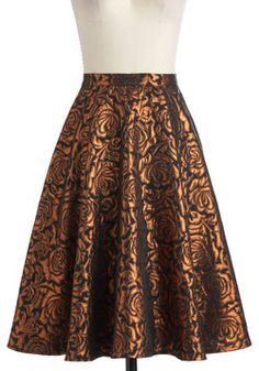 Songs by the Fire Skirt, #ModCloth