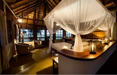 KAFUNTA RIVER LODGE - TANZANIA. Wild, mild and beautiful. In one word - a place you should visit. See more at jebiga.com #travel #toptravel2014 #resort #lodge