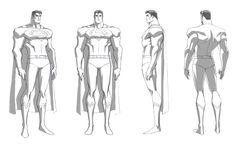 Superman turn for Warner Brothers Animation's Superman/Batman Apocalypse DTV by samliu.deviantart.com on @deviantART