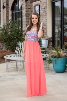 The Time and Place Maxi Dress