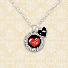Custom Loved One Embrace Life Awareness Necklace, $9.98 // Embrace your Life, Embrace your loved ones life, with your own personalized awareness necklace.//