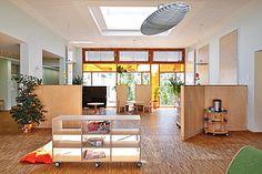 Starke Farben für starke Kids: Caparol Design Studio, Stark, Divider, Outdoor Decor, Room, Furniture, Home Decor, Room Interior Design, Colors