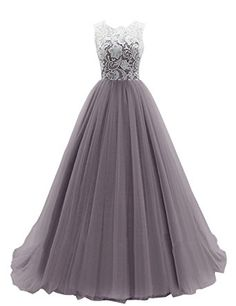 Lace prom dresses straps bridesmaid ball gowns with buttons on back