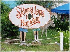 Skinny Legs, St. John, USVI.  Best Key Lime Margarita...EVER