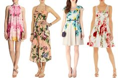 Flower Power! Floral Wedding Guest Dresses | One Fab Day