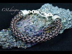 3 bight base knot for turk's head bracelets - YouTube