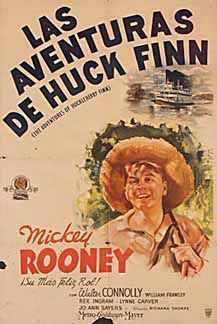 Posteritati: ADVENTURES OF HUCK FINN, THE 1939 Argentine 1 Sheet (29x43)