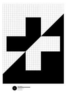 Cool use of negative space.
