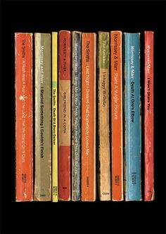 The Smiths 'Strangeways Here We Come' Album As Books Poster Print Morrissey & Marr Collected Works