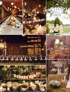 Rustic Wedding Centerpieces Ideas