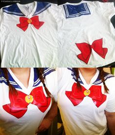 Sailor moon t-shirt! Wanna make this nowwww because I'm apparently weirdly obsessed with Sailor Moon again.