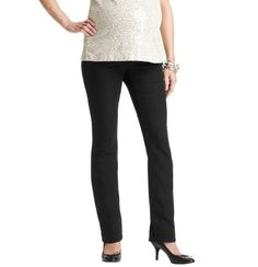 Loft - Maternity Clothes: Maternity Apparel, Dresses, Tops, Maternity Bottoms: LOFT - Maternity Modern New Boot Cut Jeans in Black