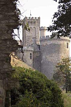 Medieval Castle de Montbrun, Dournazac, Haute-Vienne, France