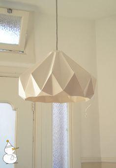chestnut paper origami lampshade / studio snowpuppe