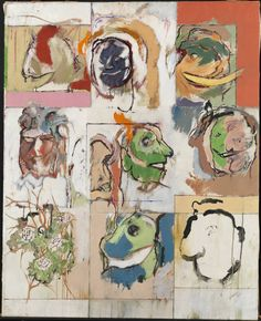 R.B. Kitaj: Erasmus Variations (1958)