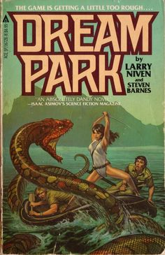 Amputee aesthetic 444308319460541923 - Dream Park – Larry Niven and Steven Barnes — cover by Michael Whelan Source by logophore Fantasy Book Covers, Best Book Covers, Book Cover Art, Comic Book Covers, Fantasy Books, Fantasy Art, Science Fiction Magazines, Pulp Fiction Book, Science Fiction Art