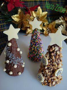 Christmas Cake Pops, Christmas Sweets, Christmas Candy, Christmas Cookies, Christmas Time, Easy Christmas Crafts, Homemade Christmas, Simple Christmas, Creative Desserts