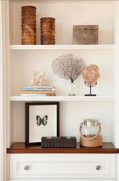 How To Style Bookshelves Or Built Ins
