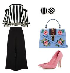 A fashion look from February 2017 featuring striped top, tall pants and pink heeled shoes. Browse and shop related looks. Tall Pants, River Island, Polyvore Fashion, Fashion Looks, Gucci, Shoe Bag, Clothing, Stuff To Buy, Shopping