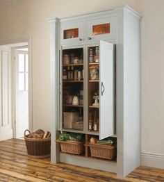 Stunning DIY Kitchen Storage Solutions For Small Space Winning Tall Freestanding Kitchen Storage Cab Lots Solutions Lanka inside [keyword Kitchen Larder Units, Larder Cupboard, Kitchen Cupboards, Kitchen Pantry, Kitchen Living, Cabinets, Kitchen Storage Solutions, Diy Kitchen Storage, Storage Room