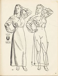 by Cliff Young-from Figure Drawing without a Model -1946