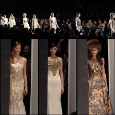 All that glitters.  @Eva Badgley Mischka #MBFW #AW14  Repinned from @Mercedes-Benz Fashion Week