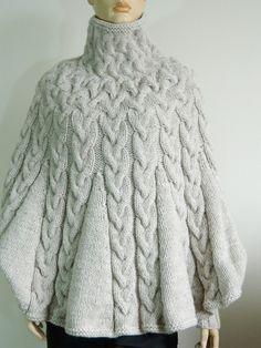 pelerine de trico