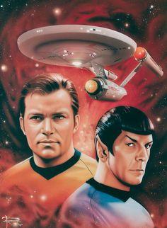 Star Trek by Brian Rood