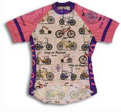 Bicycles Go Girl Bikes Premium Coolmax Women's Cycling Jersey