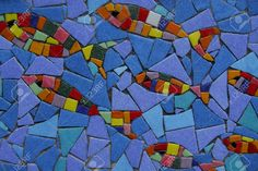Mosaic Fish Cliparts, Stock Vector And Royalty Free Mosaic Fish ...