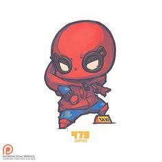 479 - Spiderman Homemade, Jr Pencil on ArtStation at https://www.artstation.com/artwork/QwdPL