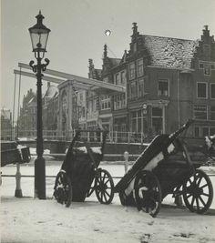 Collectie Foto's Provinciale Atlas Beschrijving Mient in de sneeuw Alkmaar