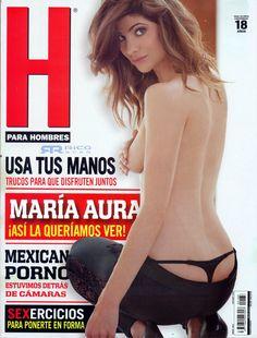 Maria Aura Revista H Enero 2015 [Scans HQ] | FamosasMex