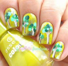 La paillette frondeuse: Nailstorming #21 // Bois, arbres, forêts