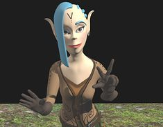 character created for the game. Character is imaginary, living in a magical world. She represents Elf-kind but being a ranger. Elf Characters, Fictional Characters, 3d Character, New Work, Ranger, Badass, Behance, Princess Zelda, Gallery