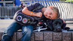 Learn how Jedi the dog is 'saving' the life of this boy with Type 1 diabetes