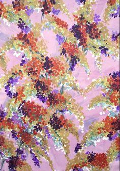 Luli Sanchez vintage floral print
