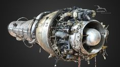 """1951 : Young company Turbomeca develops a NEW type of engine : a jet engine, Marbore, for the famous """"Fouga Magister"""".Their first step in the NEW era of jet aviation. About this scan : IMPROVED loading time (thks to Padrezippo for discussions on textures)."""